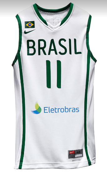 324c45442 ... (World Championships Turkey). Team Brazil 2010 Basketball Jersey