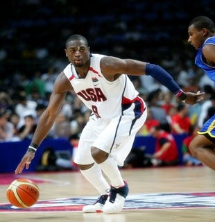 the best attitude 9a482 020a5 Dwyane Wade Will Miss 2012 London Olympics | Basketball In ...
