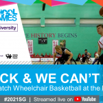 Athletes selected for 3x3 Wheelchair Basketball at 2021 Scho...